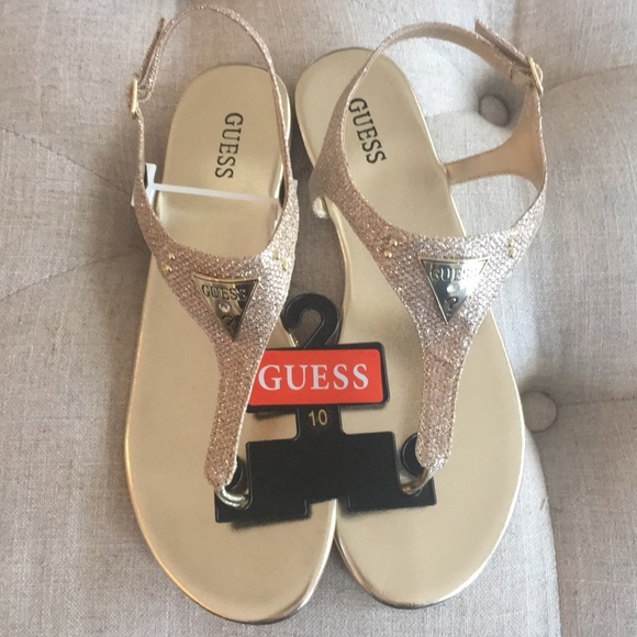 4aecb085a Guess Shoes - Guess sandals ladies size 10